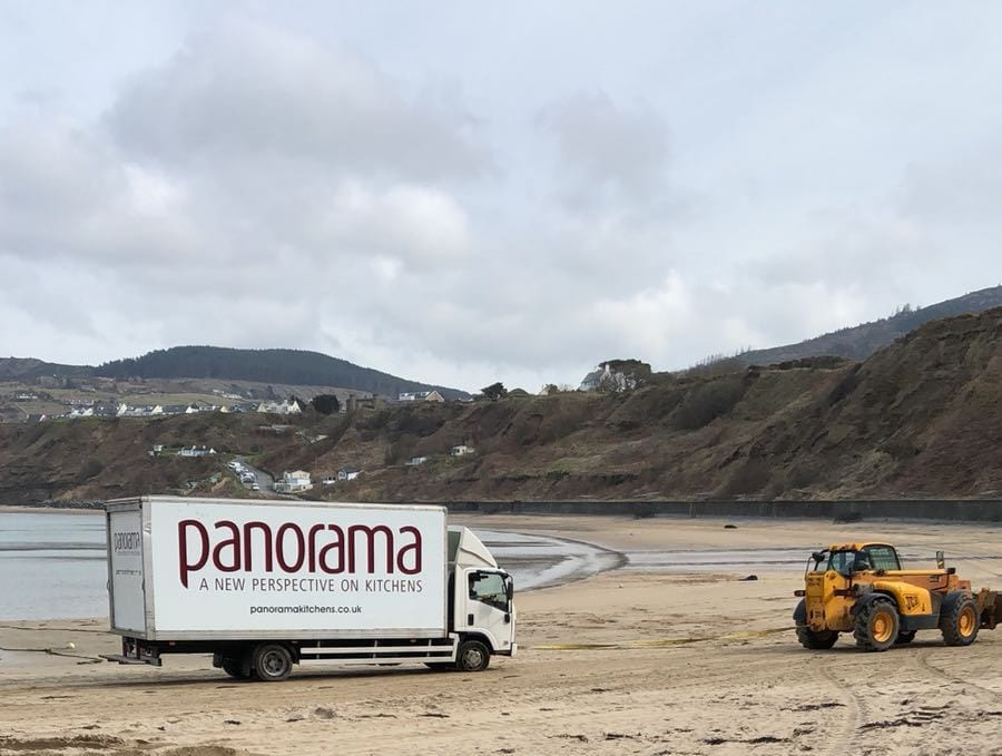 Panorama Truck on Beach